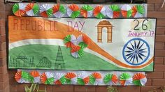 Independence project Notice Board Decoration, School Board Decoration, Class Decoration, School Decorations, Independence Day Decoration, Happy Independence Day, Diy Arts And Crafts, Hobbies And Crafts, Bird Crafts