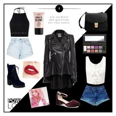 """""""Confidence is sexy in black and white"""" by fluffyflavi on Polyvore featuring Boohoo, Nobody Denim, Alexander McQueen, Miss Selfridge, MANGO, Jouer, NYX, girlpower and powerlook"""