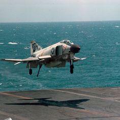 "Phantom II of ""Jolly Rogers"" Best Fighter Jet, Fighter Jets, Vietnam Veterans, Vietnam War, Robin Olds, Us Military Aircraft, F4 Phantom, Navy Aircraft Carrier, F-14 Tomcat"