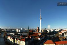 REAL CENTER OF HISTORICAL BERLIN   in Berlin Berlin, Cn Tower, Maine, Building, Places, Buildings, Construction, Lugares