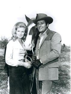 Linda Evans and Richard Long