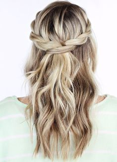 Prom Waterfall Crown Braided Long Hairstyles