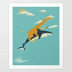 Onward! Art Print by Jay Fleck - $16.00