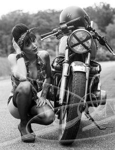 biker-girls: Girls And Bikes