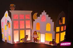 Hij komt, hij komt! Die lieve goede Sint! Het DoenKids e-book Sinterklaas voor BSO en KDV bevat 93 pagina's materiaal voor het kinderfeest. Voor deze knutsel zijn de prachtige illustraties, gemaakt… Projects For Kids, Crafts For Kids, Advent, Paper Art, Paper Crafts, Marionette, Shadow Puppets, Creative Kids, Art Plastique