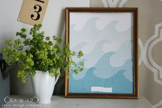 Be Still and Know wave art print  {jones design company}