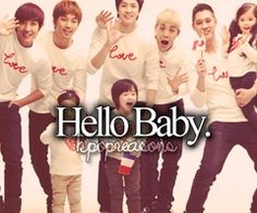 Reasons we love Kpop!!! #HelloBaby is my absolute FAVORITE variety show. Makes my smile, laugh, and cry with my idols... :)