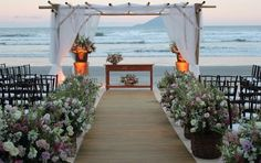 Casamento na praia - Fabiana Mussi Arquitetura e Interiores
