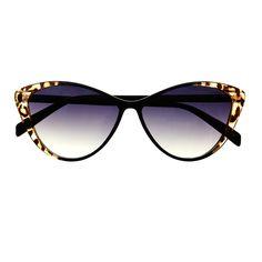 Animal Print Retro Vintage Fashion Cat Eye Sunglasses Shades C1390