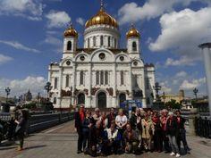Devant la Cathédrale du Christ-Sauveur de Moscou #instantVDS16