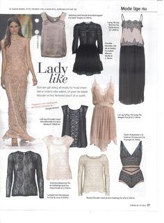 Julie Fagerholt / Heartmade blouse in the Danish Magazine Femina