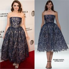 Maisie Williams in Zeynep Kartal at The Devil & the Deep Blue Sea 2016 Tribeca Film Festival Premiere