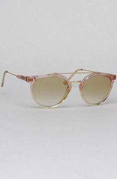 The Giaguaro Sunglasses in Light Pink