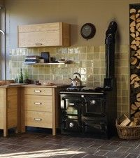 The art of wood burning and cooking from Rayburn. Possibly the nations favourite wood burning range cooker.