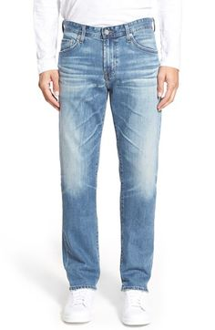 AG 'Graduate' Slim Straight Leg Jeans (14 Years Muir) available at #Nordstrom
