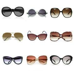 Óculos: para os mais variados estilos.