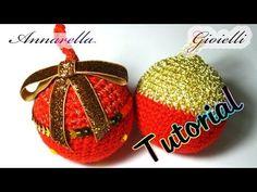 Tutorial palla di Natale all'uncinetto | Amigurumi | How to crochet a Christmas ball - YouTube