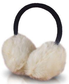 Headphones Forever Fluffy 3.5 mm (mini-jack) - ecru
