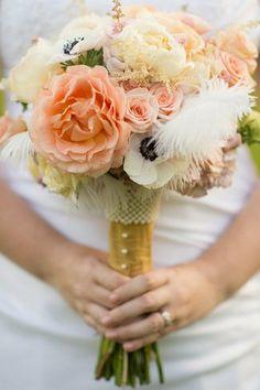 1920 Vintage Wedding Bouquet