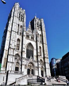 La cathédrale Saints-Michel-et-Gudule, de style gothique.