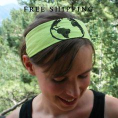 World Globe Headband
