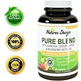 Pure Garcinia Cambogia Extract + Green Tea Raspberry Ketones + Green Coffee Bean Extract - Extra Strength Potent And Pure Blend Formula For Weight Loss In Men And Women By Natures Design - http://www.painlessdiet.com/pure-garcinia-cambogia-extract-green-tea-raspberry-ketones-green-coffee-bean-extract-extra-strength-potent-and-pure-blend-formula-for-weight-loss-in-men-and-women-by-natures-design/
