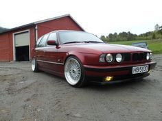 bmw e34 touring  I almost bought one these before Bambi the E30.