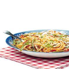 Ricetta Spaghetti con i fagiolini
