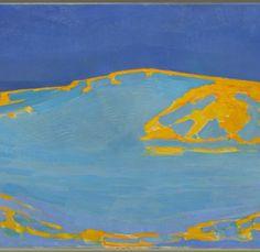 Summer, Dune in Zeeland by Piet Mondrian, Guggenheim Museum Solomon R. Guggenheim Museum, New York Medium: Oil on canvas Piet Mondrian, Theo Van Doesburg, Museums In Nyc, Dune, Digital Museum, Spanish Artists, Dutch Artists, New York, Dutch Painters