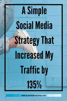 It was time to get intentional with a social media strategy for my blog. I did and this is what happened.