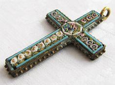 Italian mosaic cross