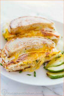 Easy Sandwich Recipes For Breakfast | Mixiomedia