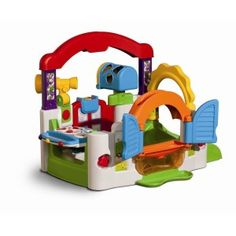 Interactive and engaging, Little Tikes Activity Garden combines essential play patterns with fun and whimsy to help baby grow and develop. Little Tikes Activity Garden. Learning Clock, Learning Toys, Baby Learning, Toddler Toys, Baby Toys, Toddler Slide, Toddler Age, Children Toys, Young Children