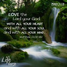 With all your heart soul mind Matthew 22:37