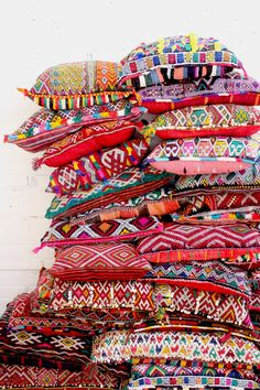 Bohemian Moroccan Kilim Pillow. From Baba Souk