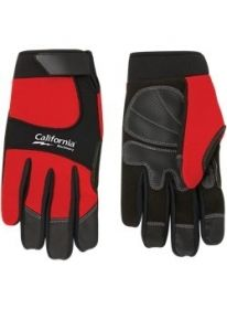 Promotional Products Ideas that work: Synthetic Leather Palm Mechanic Style Glove.  Get yours at www.luscangroup.com