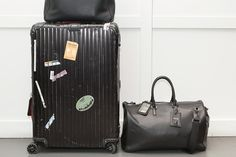 Ultimate Travel Strategist Mr. Grayson travels with a Rimowa Topas Stealth suitcase. http://www.charlesfordlondon.com/brands/rimowa/topas-stealth