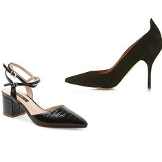 Topshop 'Giddy' Curve Tab Court Shoes at Topshop; Kensie Begum leather dress pump $89 at Lord & Taylor