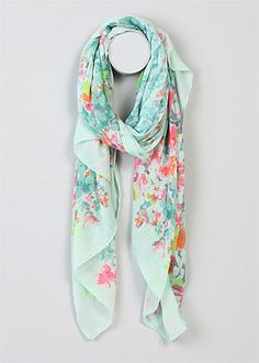 Neon Highlights Scarf