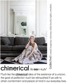 *** chimerical  -- ...the goal of perfection must be relinquished