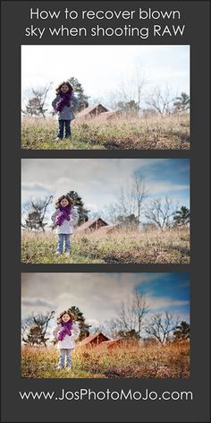 How to recover blown out skies using Adobe LightRoom and Photoshop. Image one is SOTC. Image 2: recover sky in lightroom but pulling highlight and whites slider to the left. Image 3: global contrast and sharpening plus texture overlay for color pop. www.josphotomojo.com