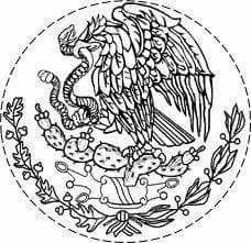 Pin De Idaly En Dia De La Bandera Escudo De Mexico Bandera De Mexico Dibujo Dibujos