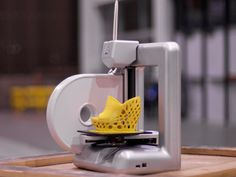 """Cube 3D Printer / The Cube 3D Printer is a home 3D printer that lets you actually """"print"""" stuff created and visualized in digital form. 3D printers are all the rage right now for advanced manufacturing at an industrial level. http://thegadgetflow.com/portfolio/cube-3d-printer/"""