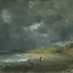 'Weymouth Bay' by John Constable, 1816, Museum no. 330-1888