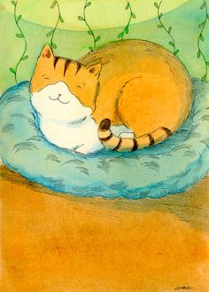 Snug in my bed - Nicole Wong
