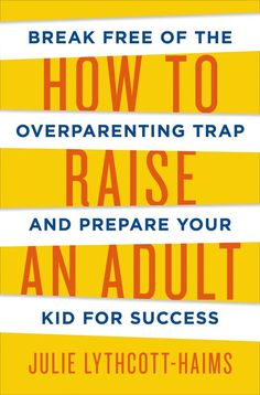 image of book how to raise an adult