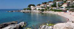 La spiaggia di Seccheto(Campo nell'Elba)