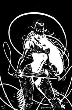 Sin City Comic | Comics Forever, Sin City's Nancy Callahan // artwork by Khary...