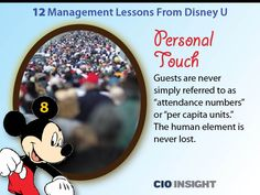 12 Management Lessons From Disney U