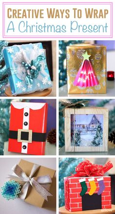 Who says the wrapping can't be as much fun as the gift inside? The holiday season is the perfect time to get crafty and put your DIY skills to the test. Make your presents stand out beneath the Christmas tree with these ingenious gift wrapping ideas.